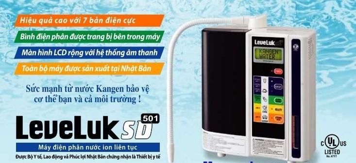 Máy lọc nước điện giải Kangen mang lại lợi ích cho người dùng khi sử dụng