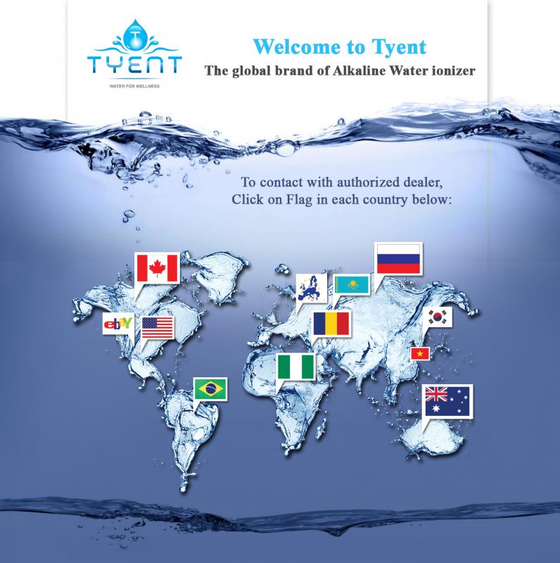 Tyent là thương hiệu toàn cầu cả thể giới tin dùng 20 năm qua