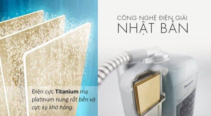 Công nghệ chế tạo máy tạo nước điện giải Panasonic