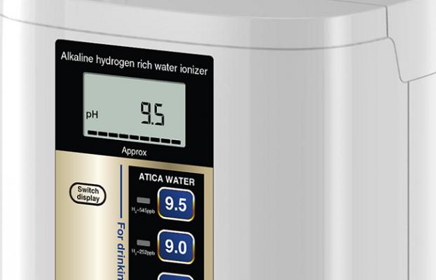 Nồng độ pH của nước Atica