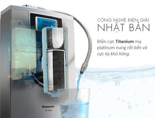 Máy tạo nước ion kiềm Trim Ion Nhật Bản