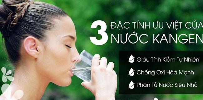 Lợi ích nước Kangen